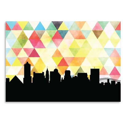Americanflat 'Memphis_Triangle' by PaperFinch Graphic Art