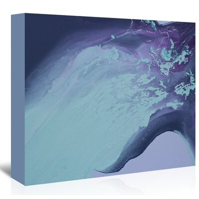 Americanflat 'Cool Blue' by Deb McNaughton Art Print Wrapped on Canvas