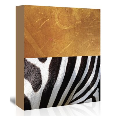 Americanflat 'ZebraA' by Ikonolexi Graphic Art Wrapped on Canvas