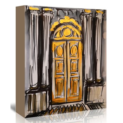 Americanflat 'Versailles Doors 2' by Cara Francis Art Print Wrapped on Canvas
