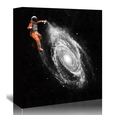 Americanflat 'Space Art' by Florent Bodart Graphic Art Wrapped on Canvas
