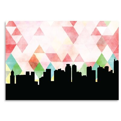 Americanflat 'Manila Triangle' by PaperFinch Graphic Art