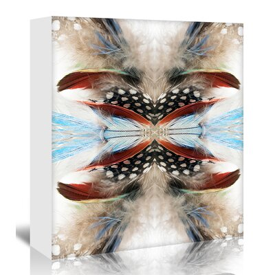 Americanflat 'Indian Feathers' by Rose Anne Colavito Graphic Art