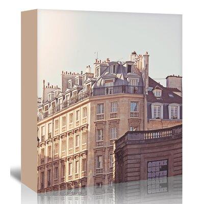 Americanflat 'Paris-Rooftops-2' by Mina Teslaru Photographic Print