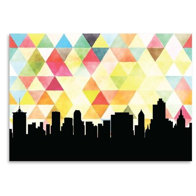 Americanflat 'Tulsa Triangle' by PaperFinch Graphic Art