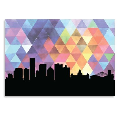 Americanflat 'Durban Triangle' by PaperFinch Graphic Art