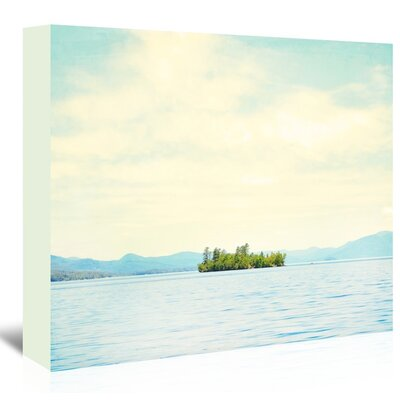 Americanflat 'Greetings-From-Nowhere-3' by Mina Teslaru Photographic Print Wrapped on Canvas