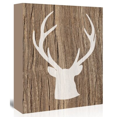 Americanflat 'Deer5' by Ikonolexi Graphic Art Wrapped on Canvas