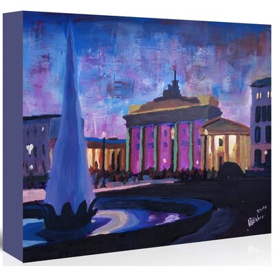 Americanflat 'Berlin 1' by M Bleichner Art Print Wrapped on Canvas