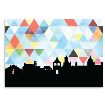 Americanflat 'Palermo_Triangle' by PaperFinch Graphic Art