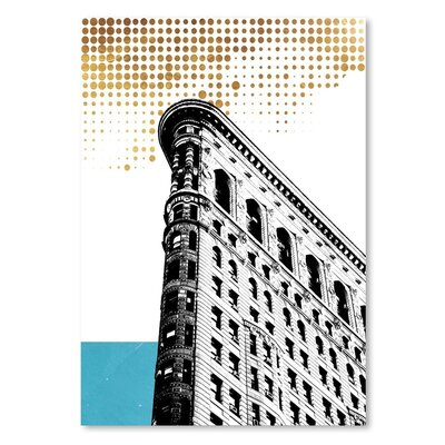 Americanflat 'Nyc' by Ikonolexi Graphic Art