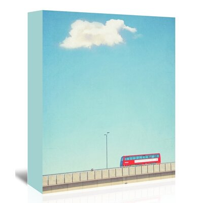 Americanflat 'Lonely-Skies-London' by Mina Teslaru Art Print Wrapped on Canvas