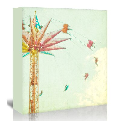 Americanflat 'Summer-Fun' by Mina Teslaru Photographic Print Wrapped on Canvas