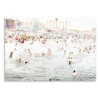 Americanflat 'Coney-Island-August' by Mina Teslaru Photographic Print