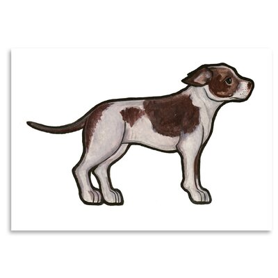 Americanflat 'Staffordshire Bull Terrier 2' by Sally Pattrick Art Print