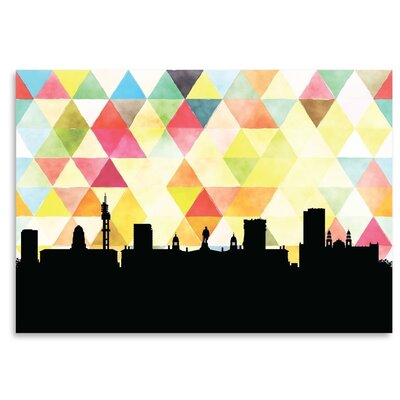 Americanflat 'Pretoria_Triangle' by PaperFinch Graphic Art