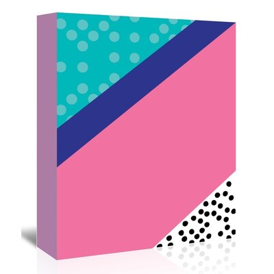 Americanflat 'Dotti' by Ashlee Rae Graphic Art Wrapped on Canvas