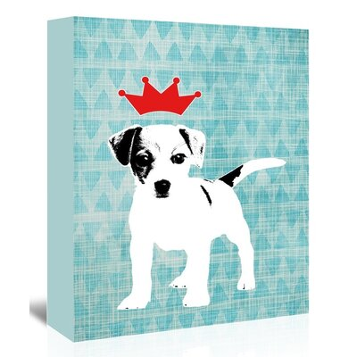 Americanflat 'Dog2' by Ikonolexi Graphic Art Wrapped on Canvas