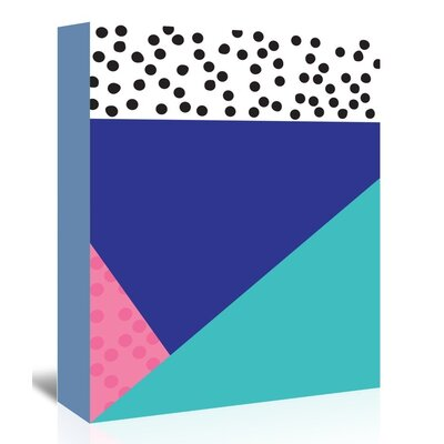 Americanflat 'Dotti Two' by Ashlee Rae Graphic Art Wrapped on Canvas
