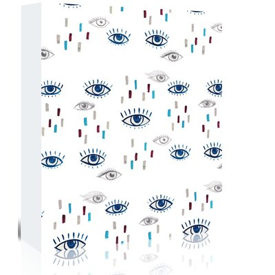 Americanflat 'Eyes' by Adrienne Vita Art Print Wrapped on Canvas