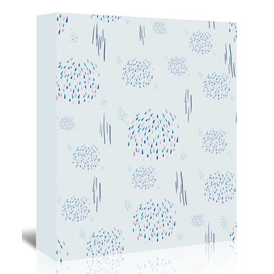 Americanflat 'Fireworks' by Adrienne Vita Art Print Wrapped on Canvas