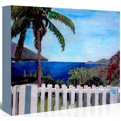 Americanflat 'Englishharbourantigua' by M Bleichner Art Print Wrapped on Canvas