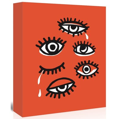 Americanflat 'Eyes_Minimal' by The Glass Mountain Graphic Art Wrapped on Canvas