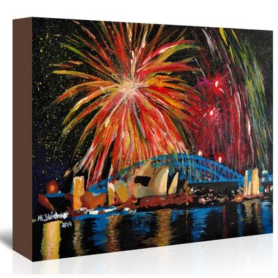 Americanflat 'Sydney Silvester' by M Bleichner Art Print Wrapped on Canvas