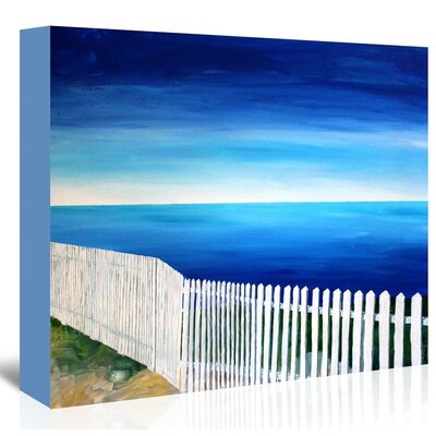 Americanflat 'San Francisco - Point Reyes' by M Bleichner Art Print Wrapped on Canvas