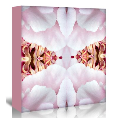 Americanflat 'Peony Flame' by Rose Anne Colavito Graphic Art Wrapped on Canvas