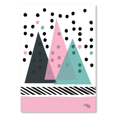 Americanflat 'Mountain Rain' by Ashlee Rae Graphic Art