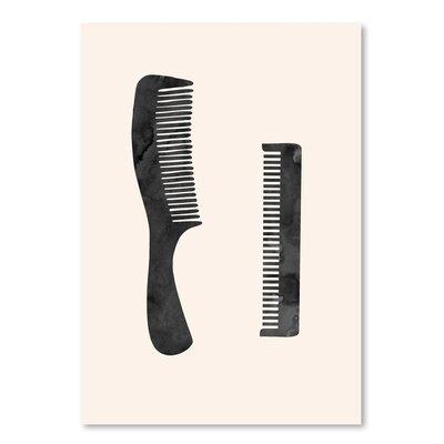 Americanflat 'Combs' Art Print