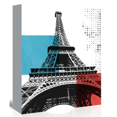 Americanflat 'Paris' by Ikonolexi Graphic Art Wrapped on Canvas