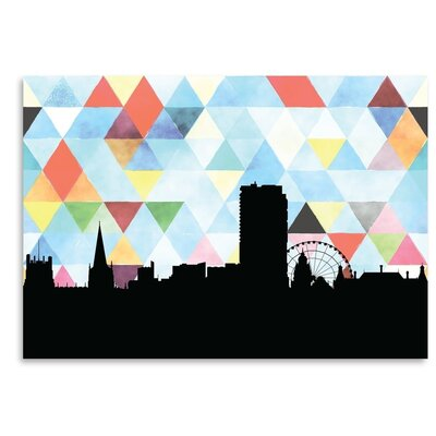 Americanflat 'Sheffield Triangle' by PaperFinch Graphic Art