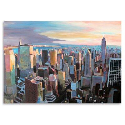 Americanflat NYC Sunlight2' by Markus Bleichner Art Print