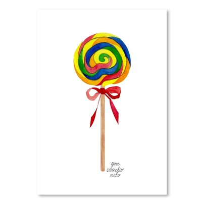 Americanflat 'Lollipop' by Gina Maher Art Print