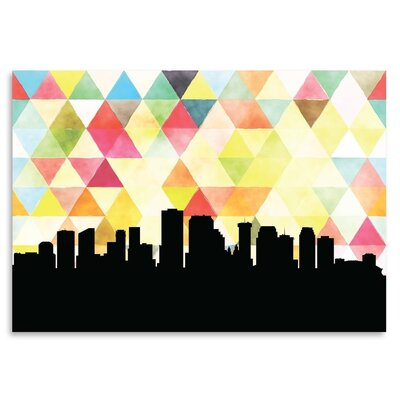 Americanflat 'NewOrleans Triangle' by PaperFinch Graphic Art