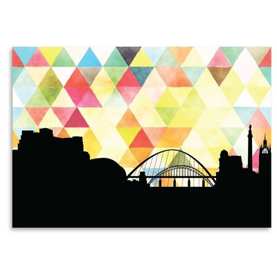 Americanflat 'Newcastle Triangle' by PaperFinch Graphic Art