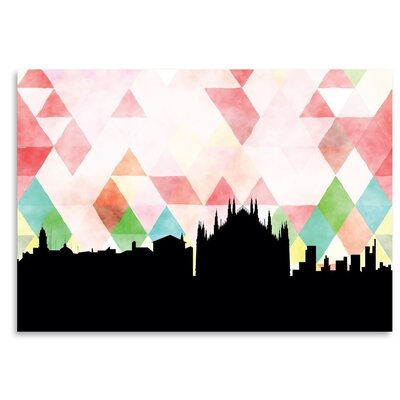 Americanflat 'Milan Triangle' by PaperFinch Graphic Art