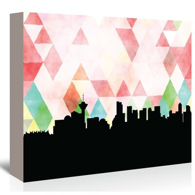 Americanflat Vancouver Triangle' by Paper Finch Graphic Art on Canvas