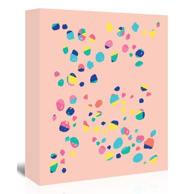 Americanflat Confetti' by Ashlee Rae Graphic Art on Canvas