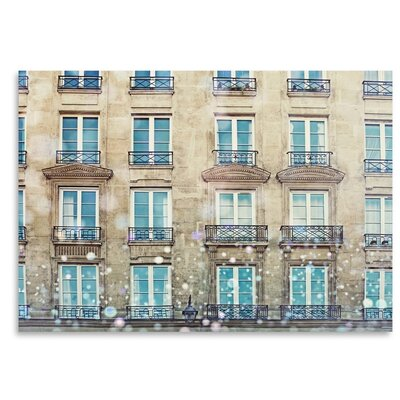 Americanflat 'Paris-Windows' by Mina Teslaru Graphic Art
