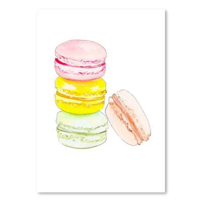 Americanflat 'Macarons 4' by Alison B Art Print