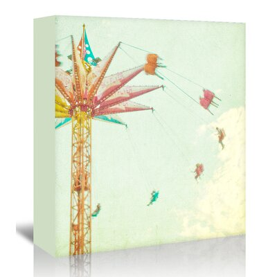 Americanflat 'Summer-Fun' by Mina Teslaru Graphic Art Wrapped on Canvas