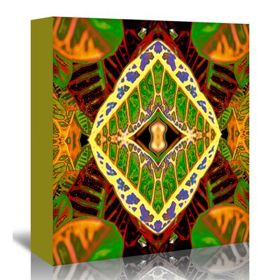 Americanflat 'Croton DashikiX' by Rose Anne Colavito Graphic Art Wrapped on Canvas