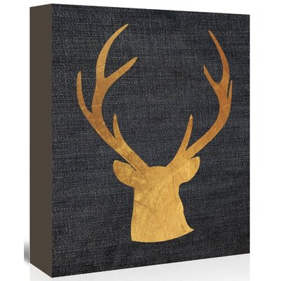 Americanflat 'Deer4' by Ikonolexi Graphic Art Wrapped on Canvas