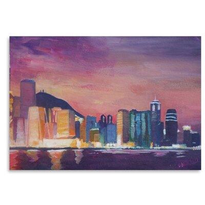 Americanflat 'Hongkong Night' by M Bleichner Art Print