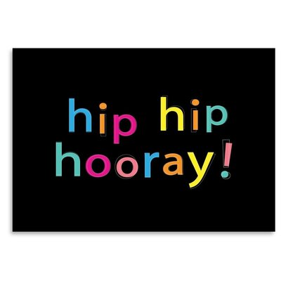 Americanflat 'Hip Hip Hooray' by Ashlee Rae Typography