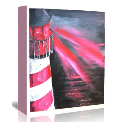 Americanflat 'Lighthouse' by Cara Francis Art Print Wrapped on Canvas