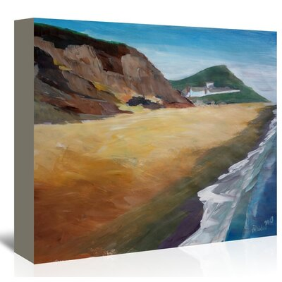 Americanflat 'Irish Coast Wexford' by M Bleichner Art Print Wrapped on Canvas